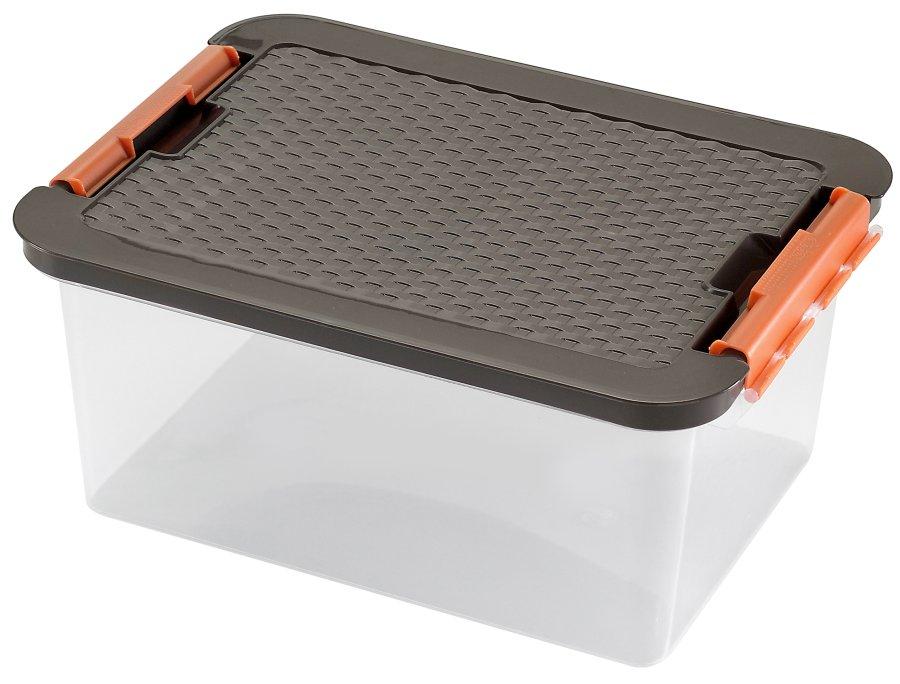 Heidrun RATTAN box CLIP 14 l 4604