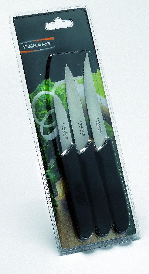 Sada nožů Fiskars na zeleninu 3ks