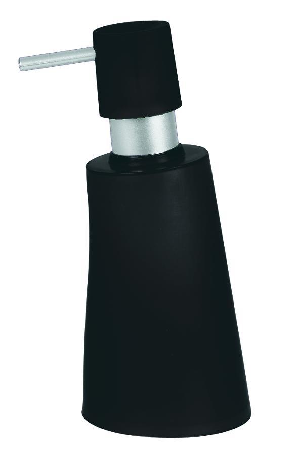 Spirella dávkovač mýdla MOVE - černá 1014951