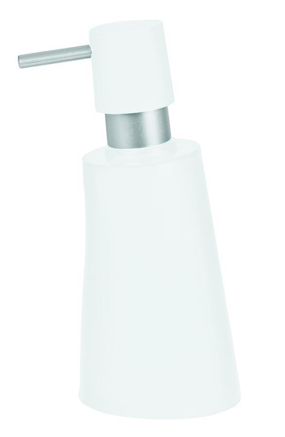 Spirella dávkovač mýdla MOVE - bílá 1014957