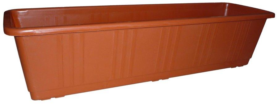 Plasty-ko truhlík s dezénem 00643