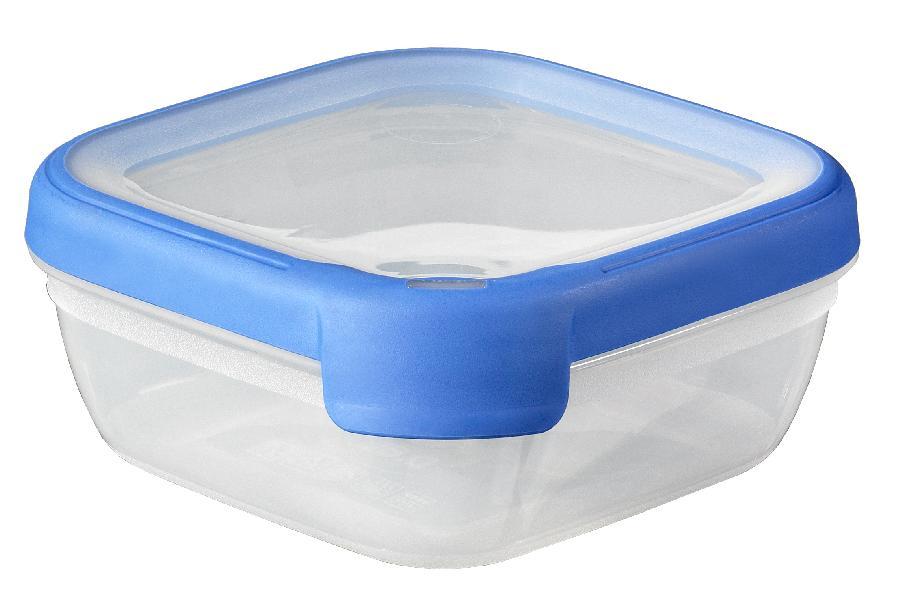 Dóza Grand Chef čtverec 0,75l modrá
