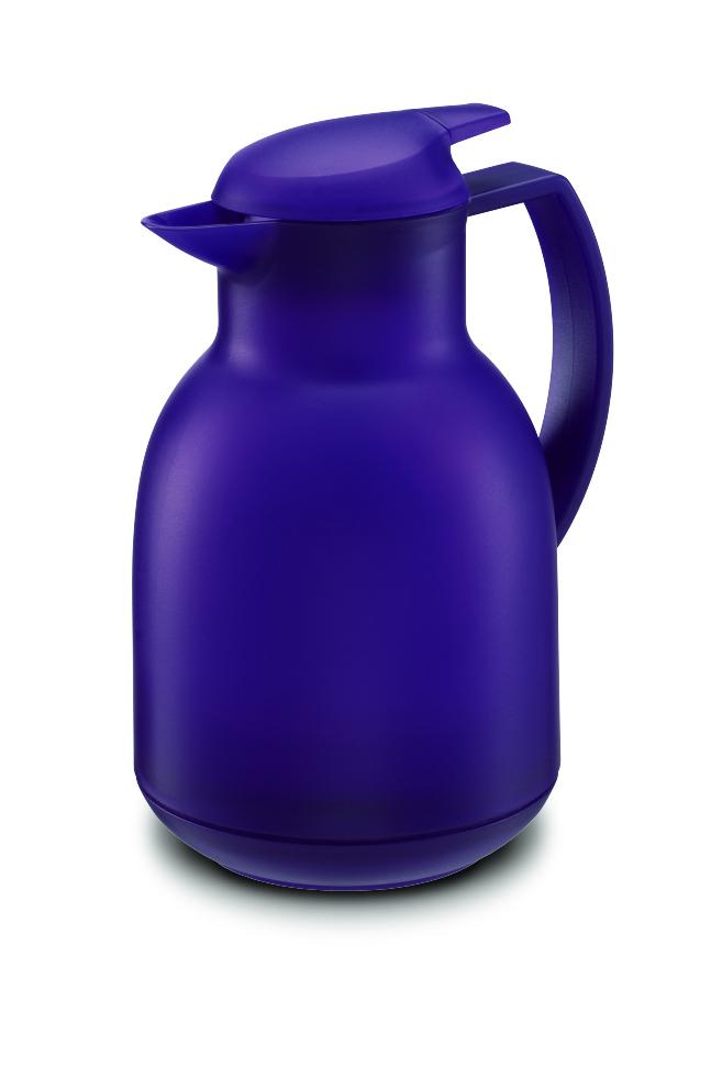 Termoska BOLERO 1 l satin tmavě fialová