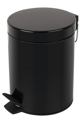Spirella SYDNEY BLACK odpadkový koš 5 l 1016394