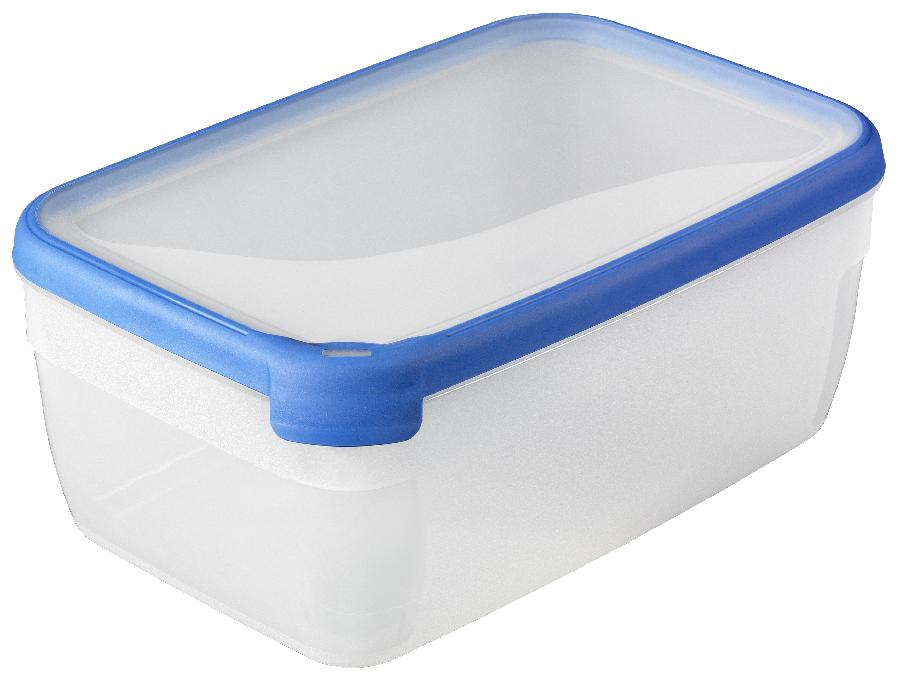 Dóza na potraviny GrandChef obdélník 5,4l - modrá