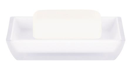 Spirella FREDDO mýdlenka - bílá 1016090