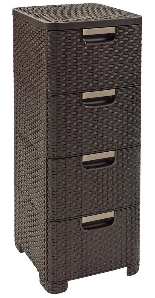 Curver RATTAN Style zásuvka 4x 14 l 06605-210