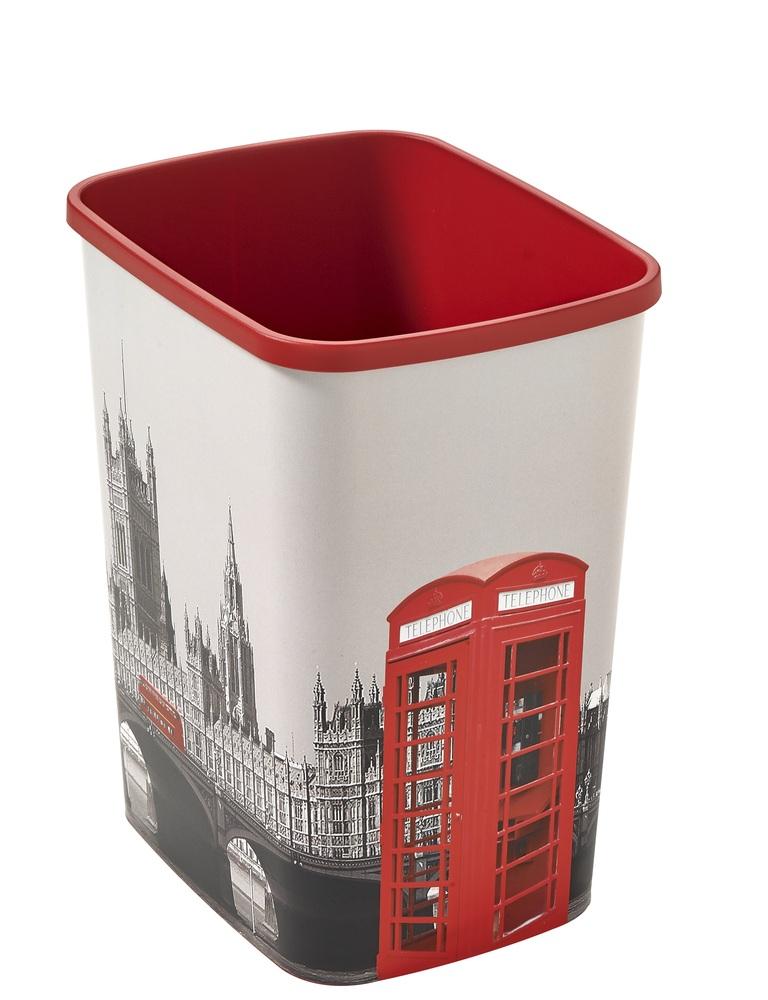Curver Flipbin LONDON odpadkový koš 25 l 02174-L12