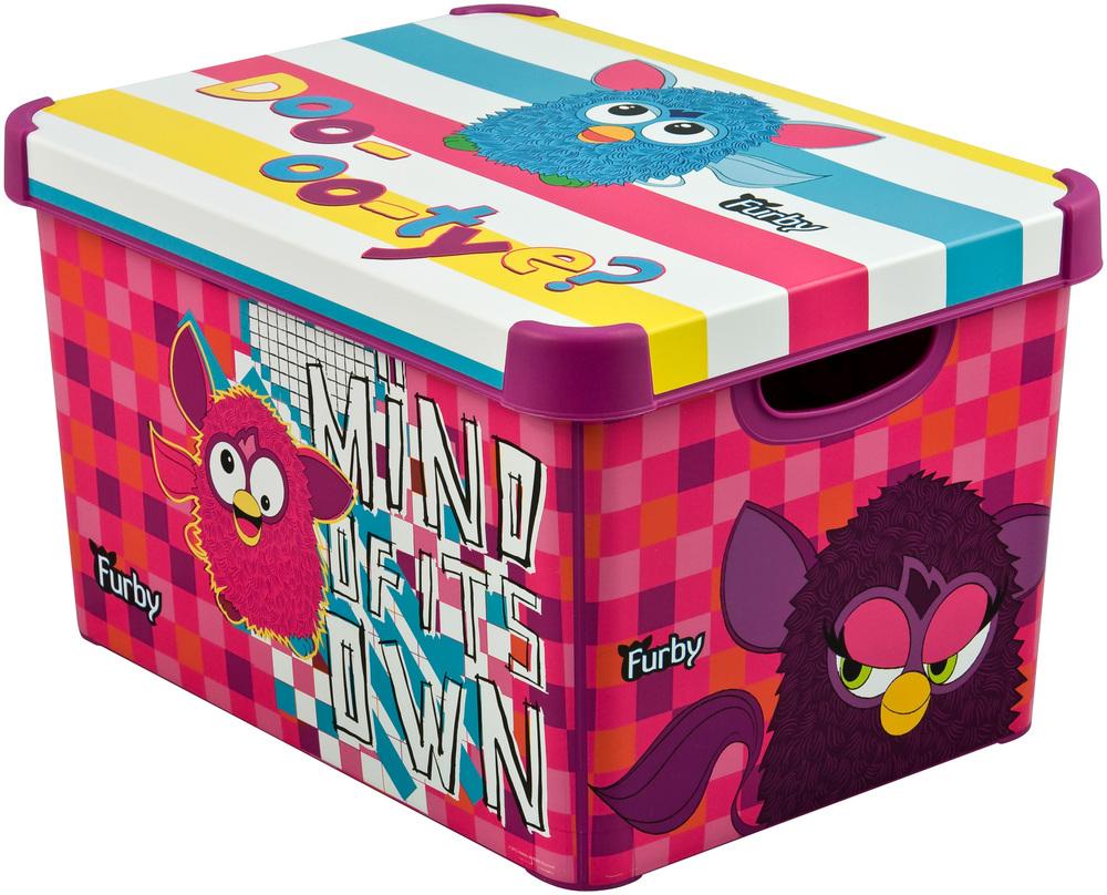 Box úložný dekorativní L FURBY