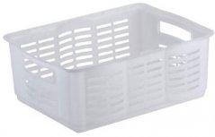 Obrázek Úložný košík  na drobné předměty clear CURVER 35,1 x 25,1 x 15,6 cm