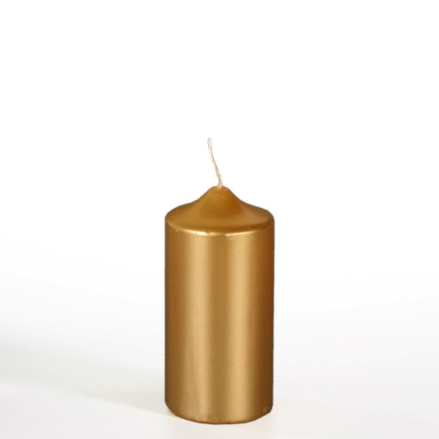 Zlatá vánoční svíčka
