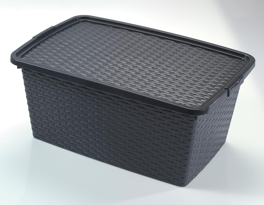 Heidrun RATTAN box s víkem 40 l 4512