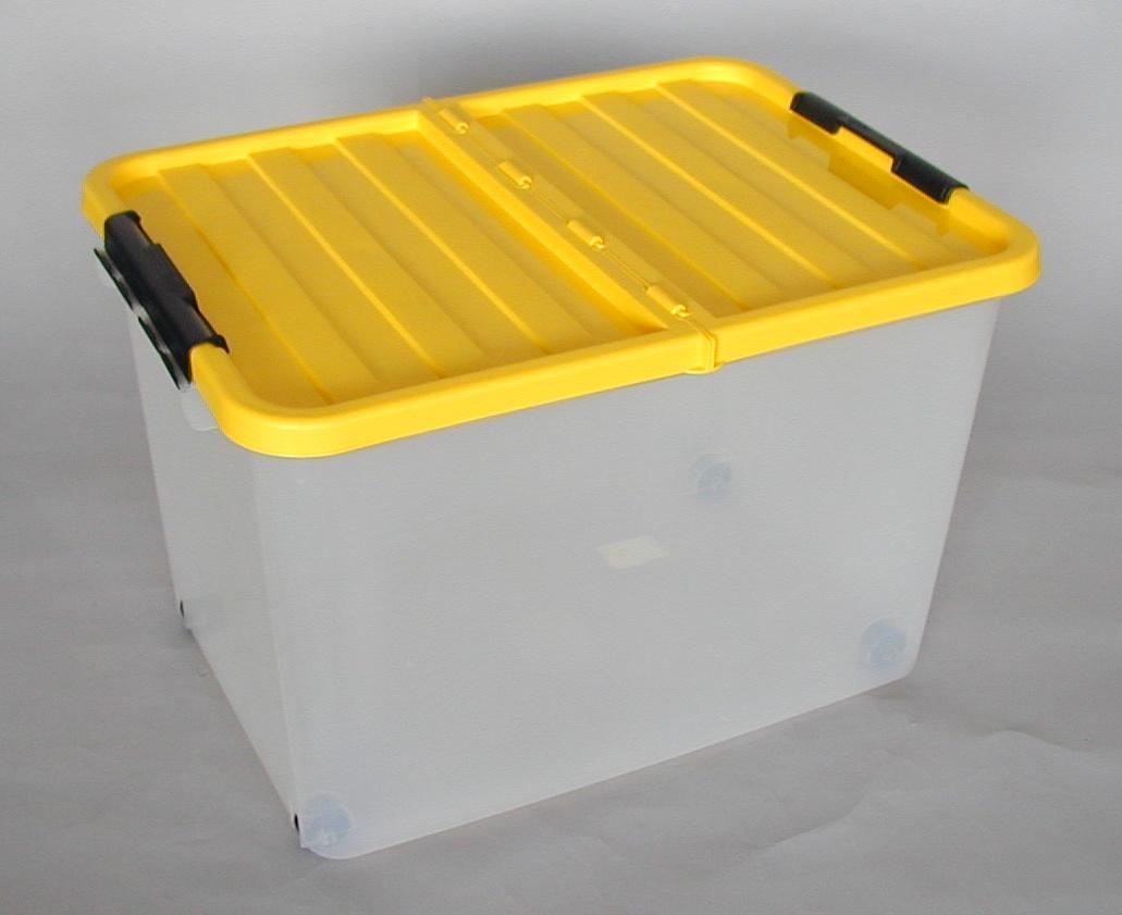 Heidrun box úložný s víkem pojízdný 1610