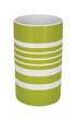 Spirella TUBE STRIPES kelímek - zelená 1017276