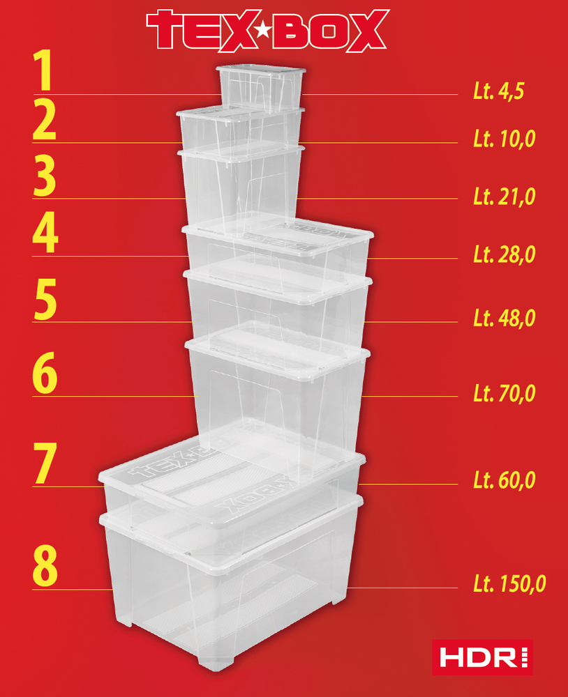 Heidrun TEX BOX box úložný 4,5 l 7201
