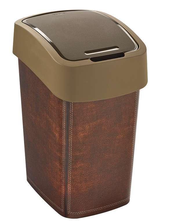 Curver FLIPBIN odpadkový koš 25 l leather 02171-L13