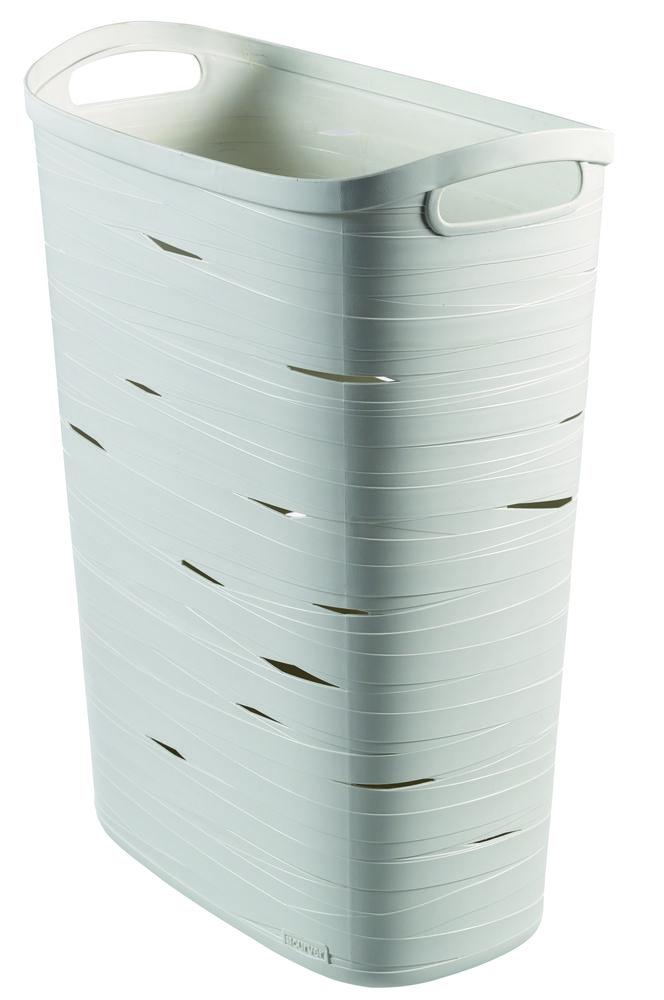 Curver koš na prádlo Ribbon 49 l - bíly 00746-X07