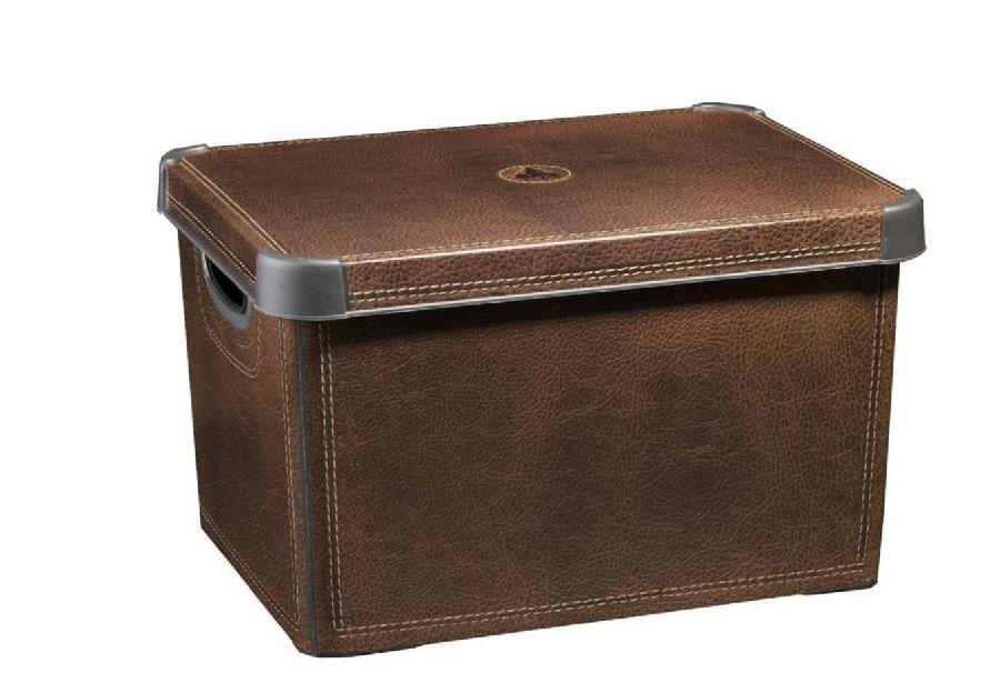 Box úložný dekorativní L - Leather
