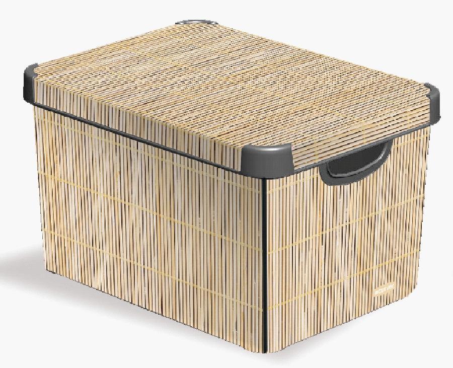 Curver box dekorativní 25 l - Bamboo 04711-D67