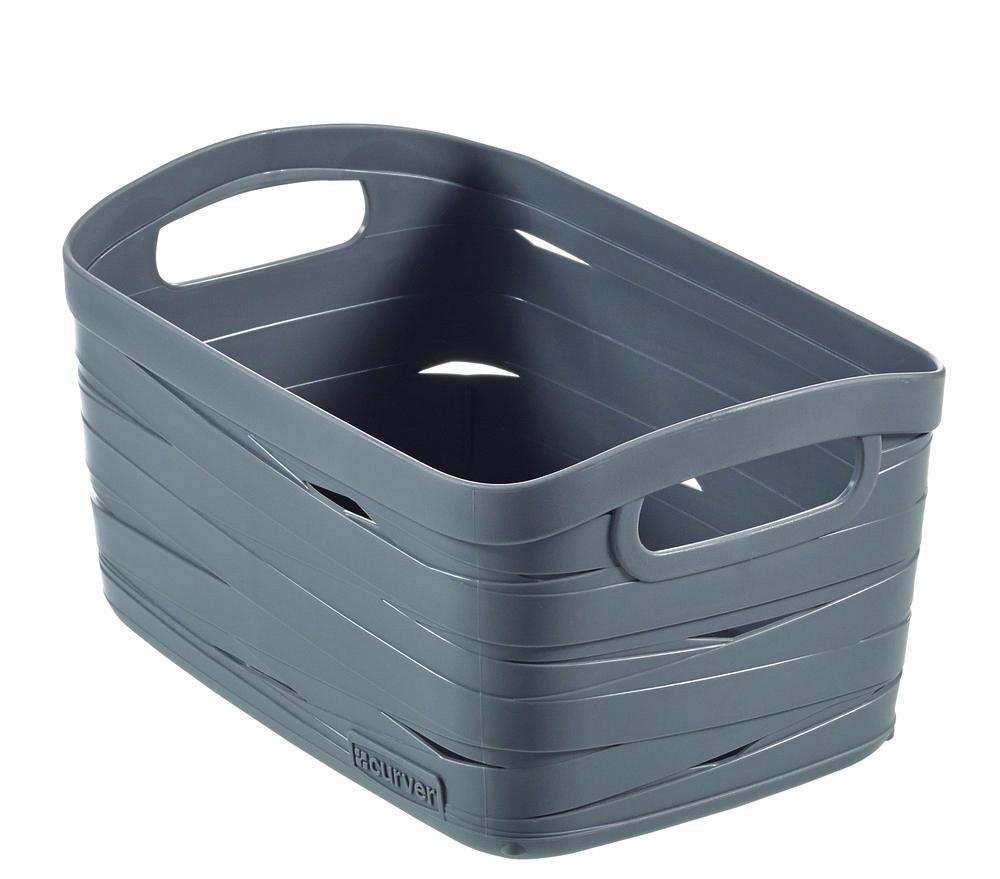 Curver úložný box RIBBON XS - šedý 00728-T37
