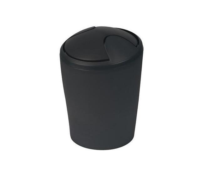 Spirella odpadkový koš 5 l MOVE - černá 1014955