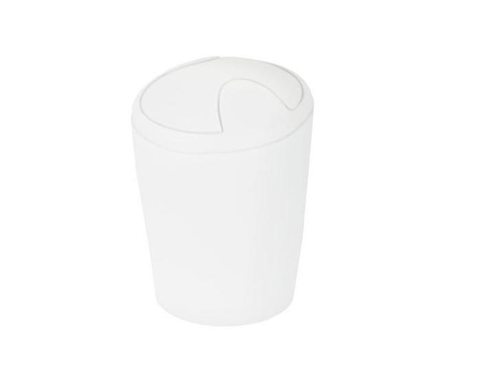 Spirella odpadkový koš 5 l MOVE - bílá 1014961