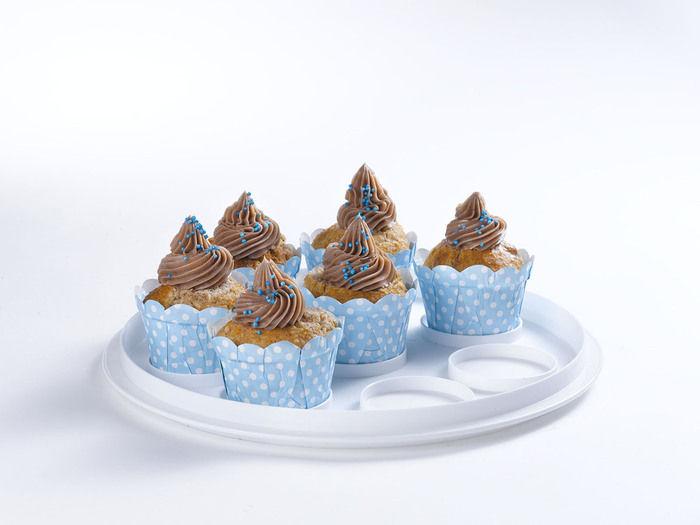 Curver přenosný box na koláč 00722-897