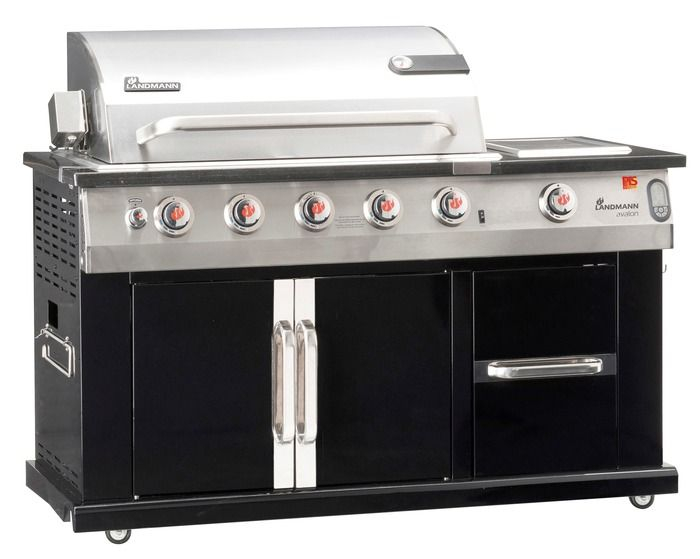 Plynový grill Avalon 21,90+4,4kW