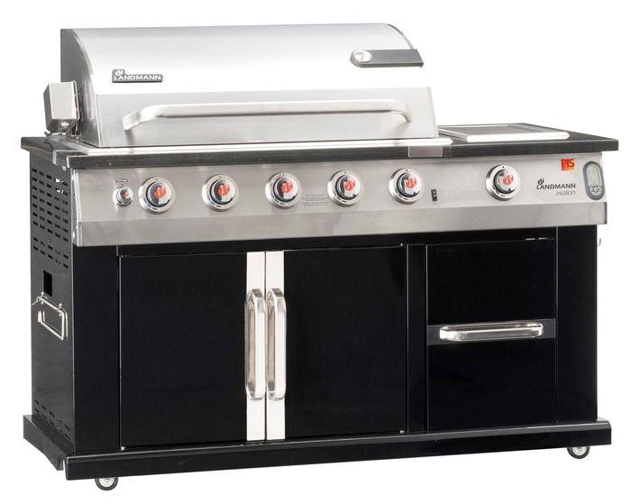 Landmanpiega plynový grill Avalon 12780