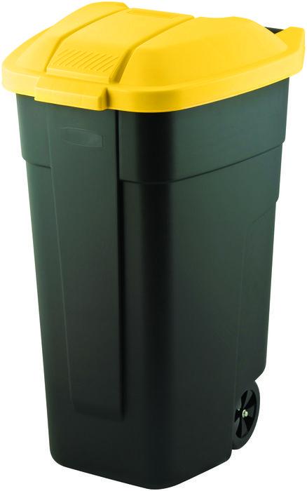 Curver popelnice 110 l žlutá 12900-224