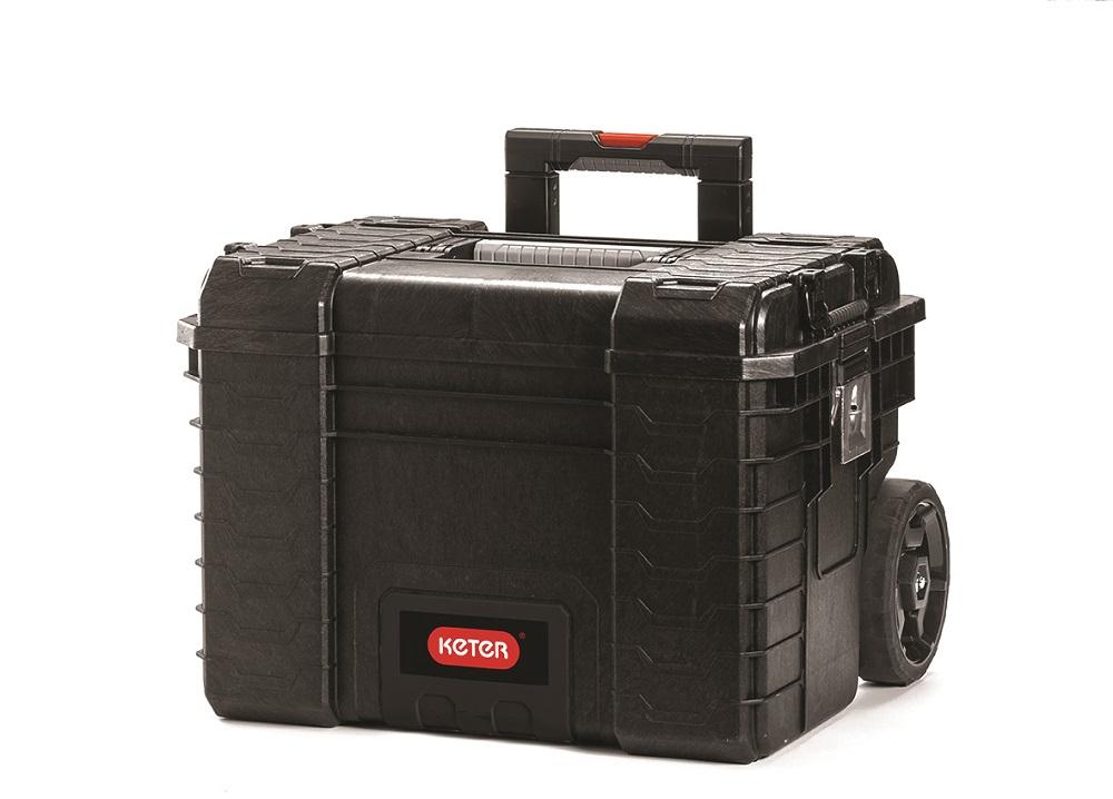 Curver pojízdný kufr na nářadí RIGID 17200383