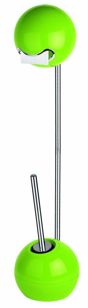 Spirella BOWL stojan na WC štětku a toaletní papír kiwi 1016342