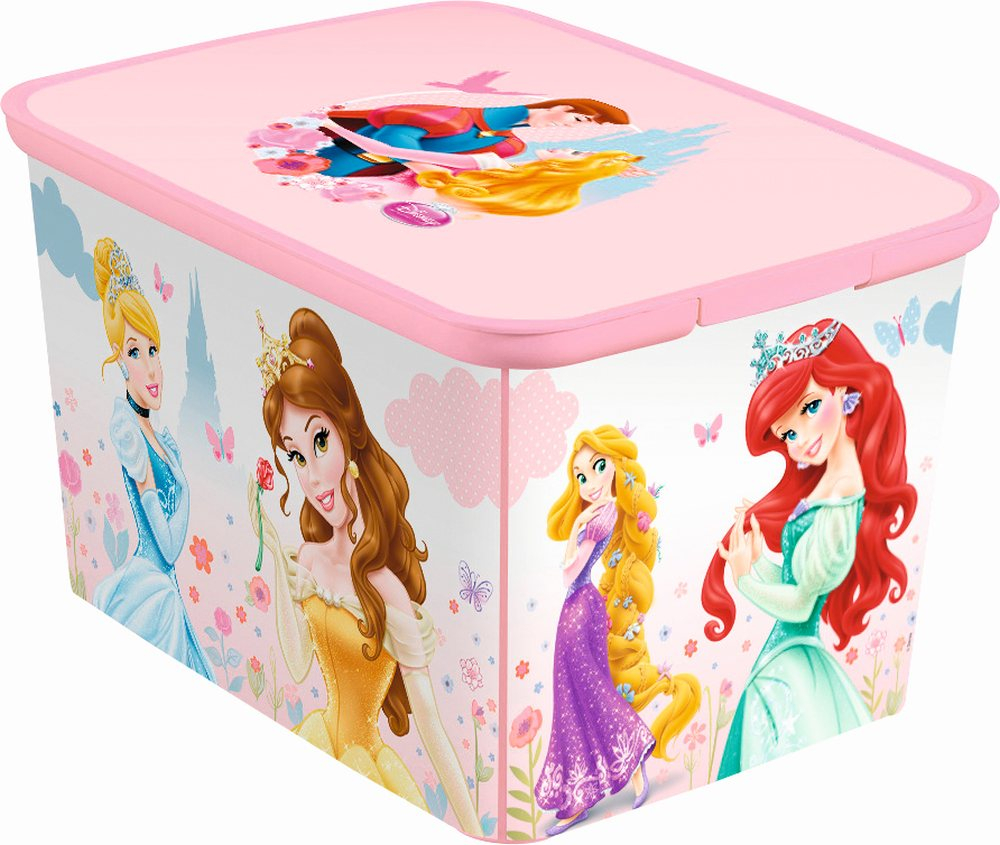Curver úložný box AMSTERDAM L - Princess 04730-P63