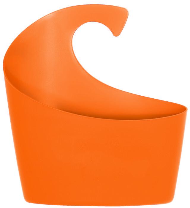 Závěsný kosmetický koš SYDNEY orange 1 l