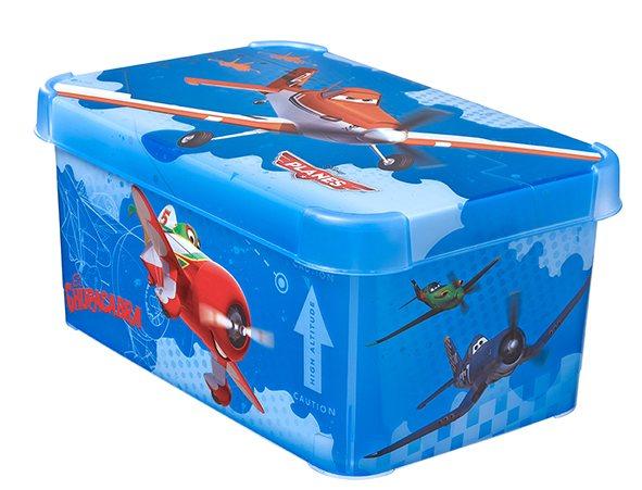 Curver box úložný dekorativní S planes