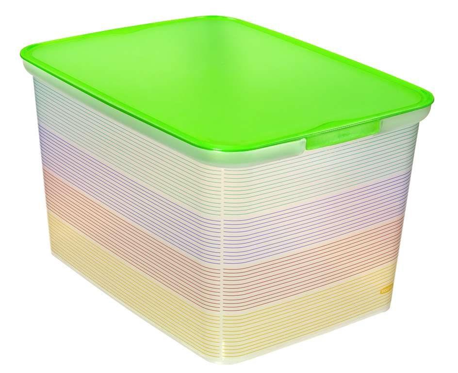 Curver AMSTERDAM L úložný box stripes 04730-S29