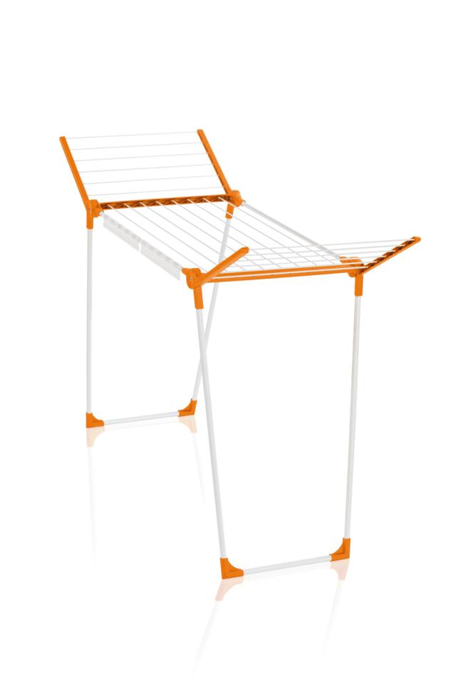 Leifheit PEGASUS 150 Slim orange sušák na prádlo 81663