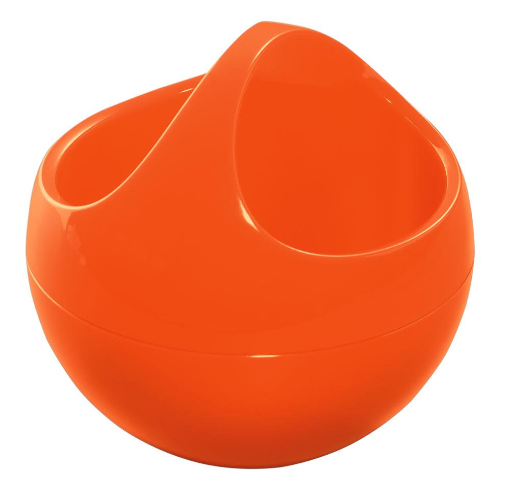 Spirella BOWL make-up basket orange 1016877