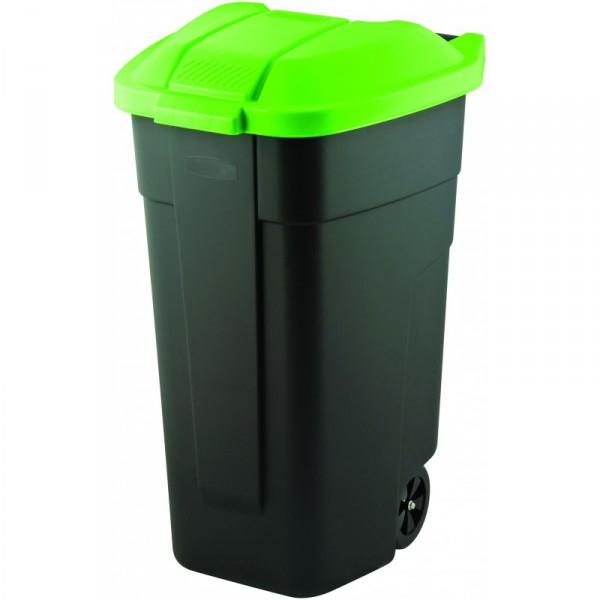 Curver popelnice 110 l zelená 12900-847