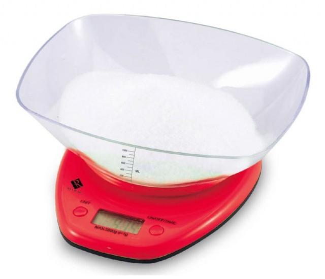 Bergner elektronická kuchyňská váha RB-5602