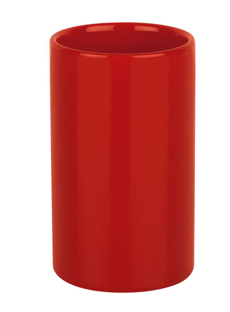 Spirella TUBE kelímek - červená 1016084