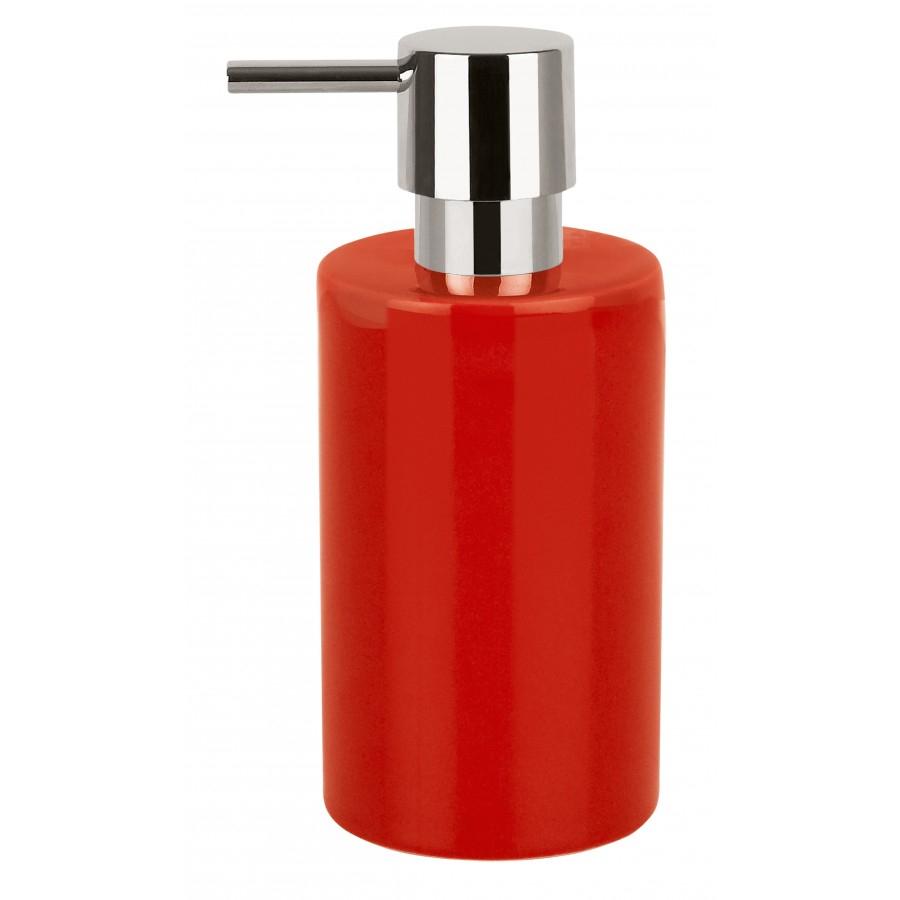 Spirella TUBE dávkovač mýdla - červená 1016085
