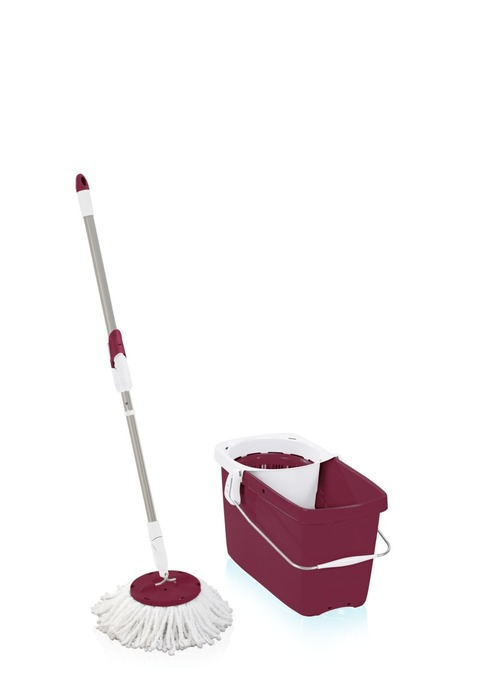 Set CLEAN TWIST Mop rubinrot 52059