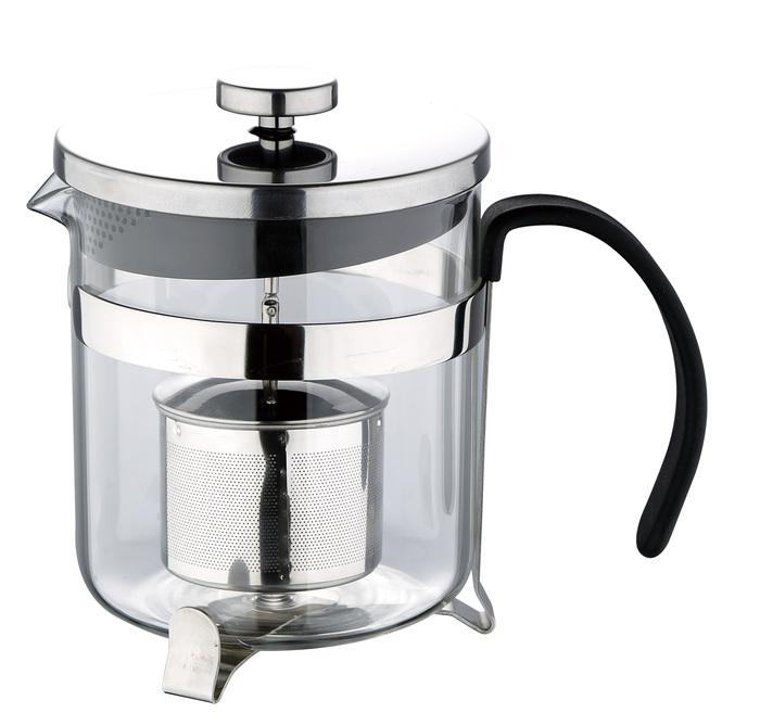 Konvička na čaj s čajítkem nerez 600 ml RB-3110