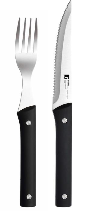 Set steakových nožů a vidliček MASTERPRO GOURMET BG-8900-MM
