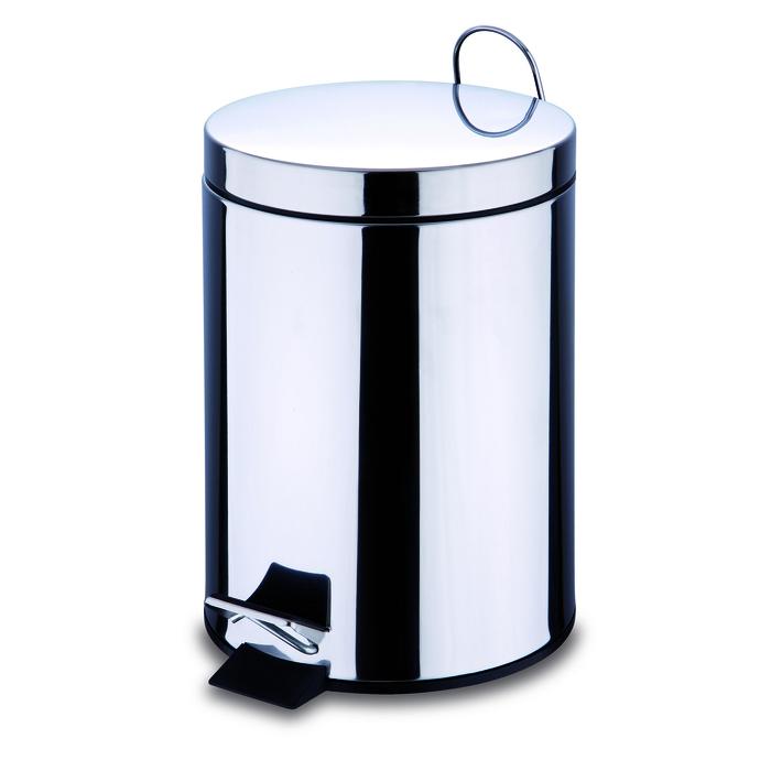 Odpadkový koš pedálový kulatý 5L BGEU-0003