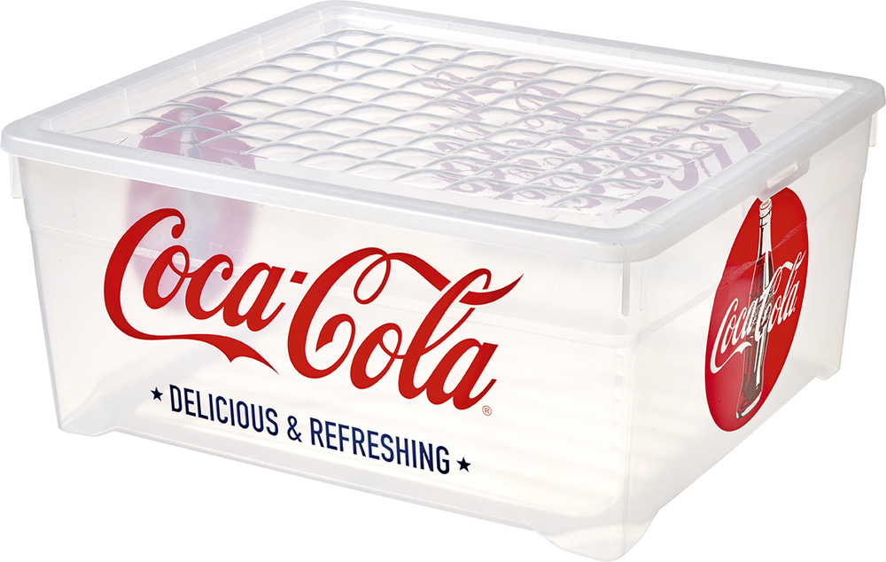 Curver úložný box 18,5 l - Coca-Cola 03002-C57