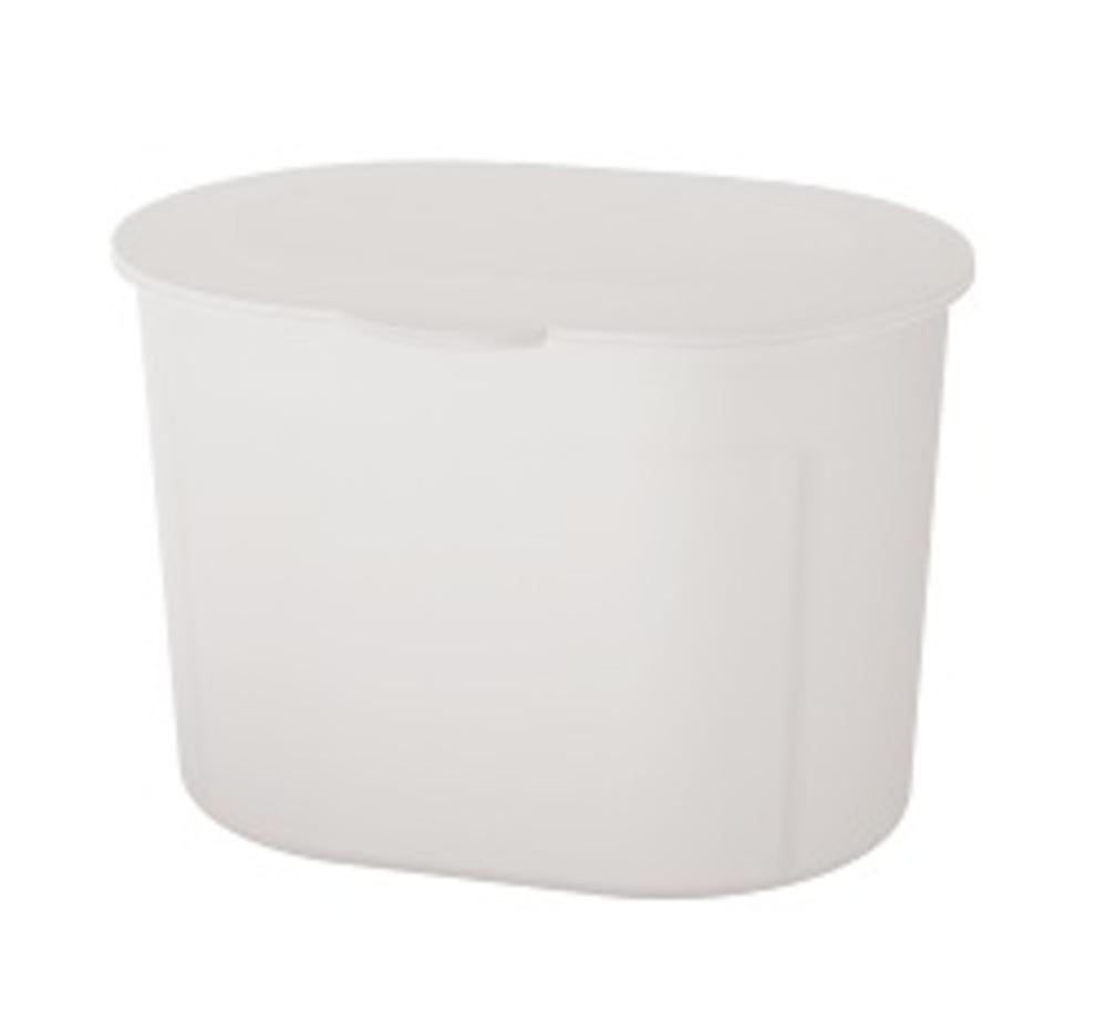 Spirella MAFORMA odpadkový koš 3 l frosty white 1017365