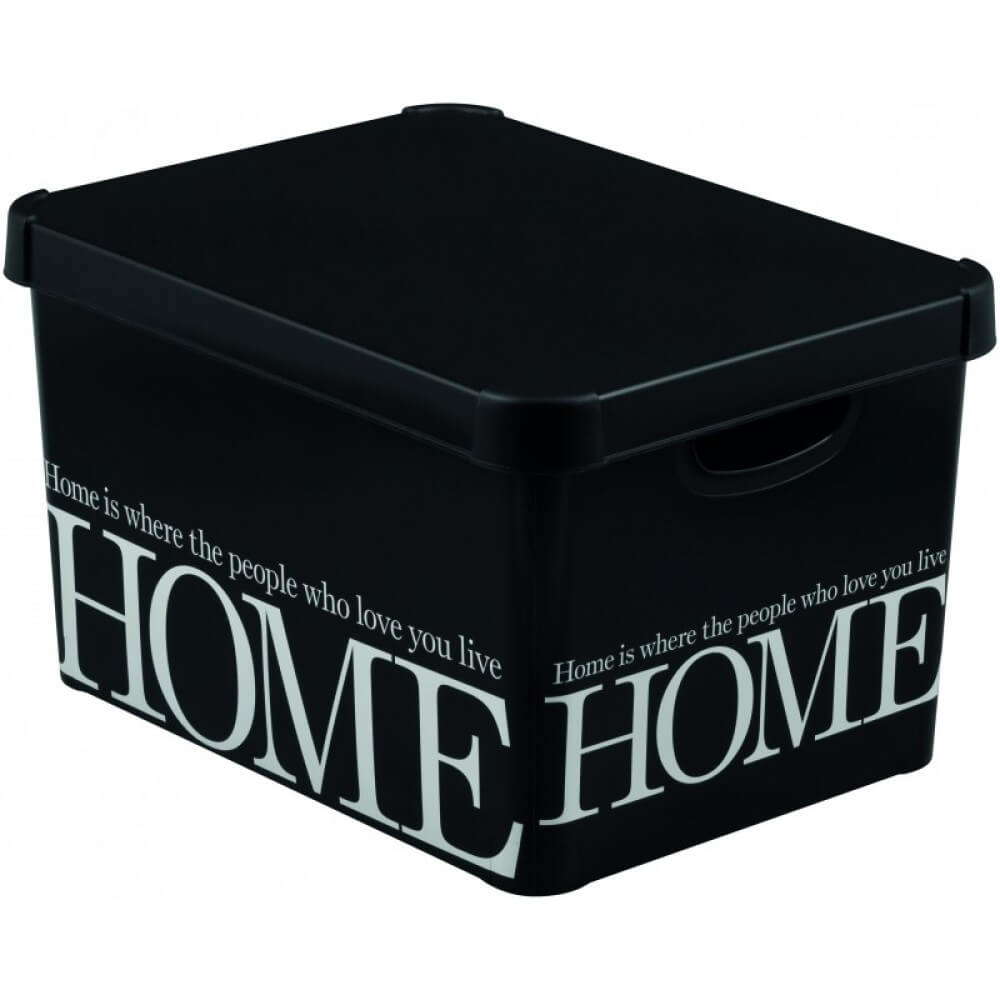 Curver Deco's Stockholm box s víkem L - HOME 04711-H09
