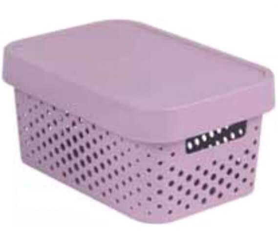 Úložný box INFINITY - růžový 04760-X51